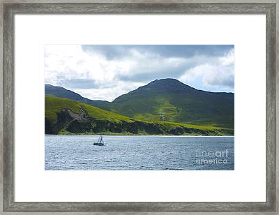 The Isle Of Jura, Scotland Framed Print by Diane Diederich