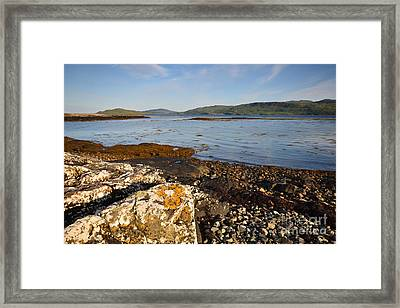 The Isle Of Mull Framed Print by Nichola Denny