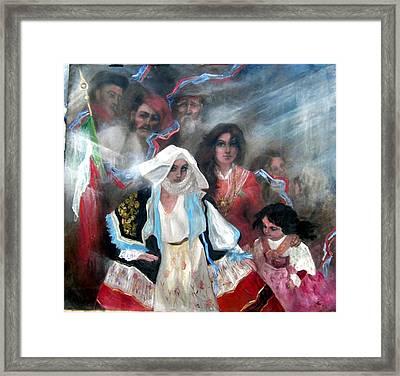 The Italia Family Framed Print by Elisabeth Nussy Denzler von Botha
