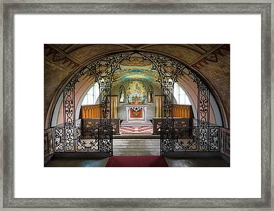 The Italian Chapel Framed Print by Dave Bowman