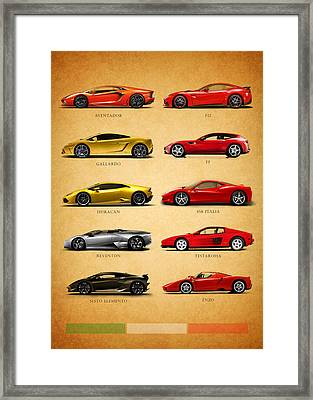 The Italian Job Framed Print by Mark Rogan