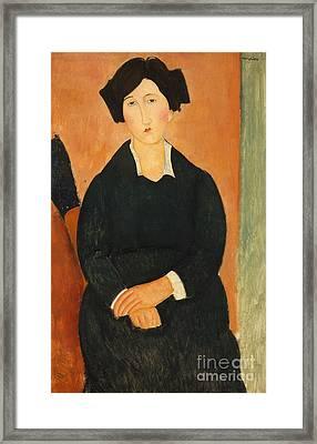 The Italian Woman, 1917  Framed Print by Amedeo Modigliani