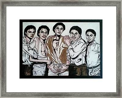 The Jacksons Five  Framed Print