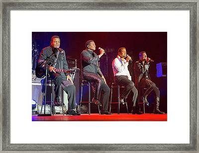 The Jacksons Framed Print