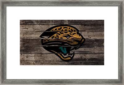 The Jacksonville Jaguars 1w Framed Print