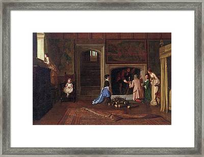 The Jacobites Escape The Punch Room Framed Print by MotionAge Designs