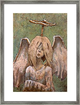 The Jaded Angel Framed Print
