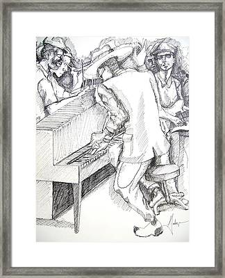 The Jam Framed Print by Gary Galarza