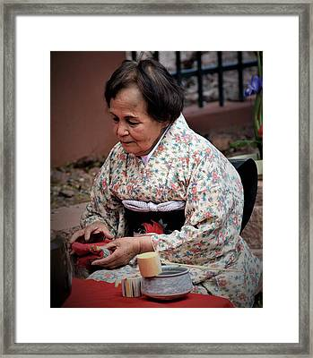 The Japanese Tea Ceremony Framed Print