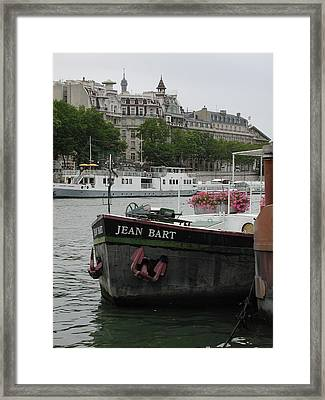 Framed Print featuring the photograph The Jean Bart by Nancy Taylor
