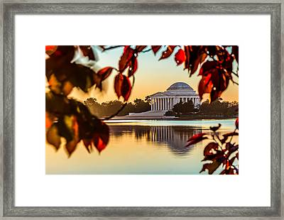 Jefferson In Autumn Framed Print