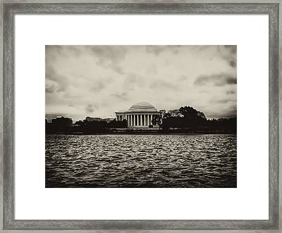 The Jefferson Memorial Framed Print by Bill Cannon
