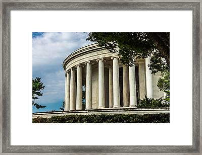 The Jefferson Memorial Framed Print