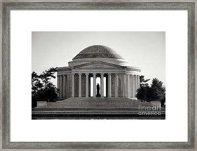 The Jefferson Memorial  Framed Print by Olivier Le Queinec