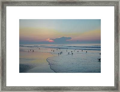Framed Print featuring the photograph The Jersey Shore - Wildwood by Bill Cannon