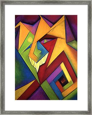 The Jester Framed Print by Tracey Levine