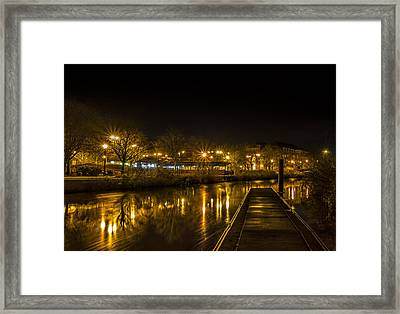 The Jetty Framed Print