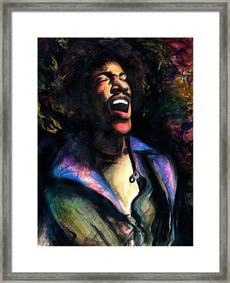 The Jimi Framed Print by Kinetik  Studio