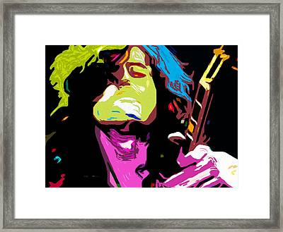 The Jimmy Page By Nixo Framed Print