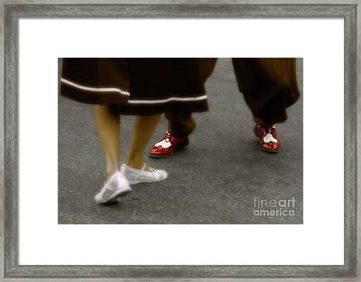 The Jitterbug  Framed Print by Steven  Digman