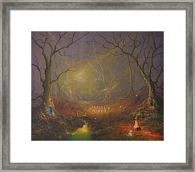 The Fairy Ring Party Framed Print by Joe Gilronan