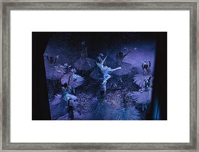 The Joffrey Ballet Dances The Framed Print by Sisse Brimberg