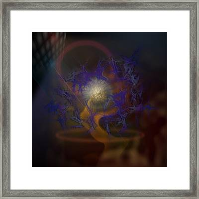 The Joggler Framed Print