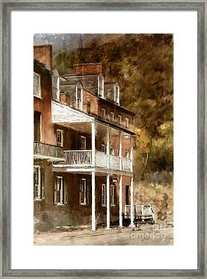 The John Brown Museum Harper's Ferry Framed Print by Lois Bryan