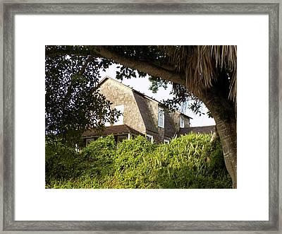 The John Dubois House Framed Print