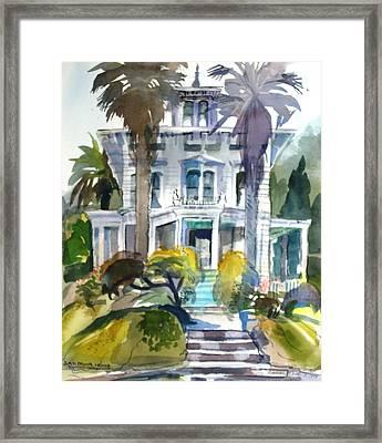 The John Muir House Framed Print by Naomi E Heid