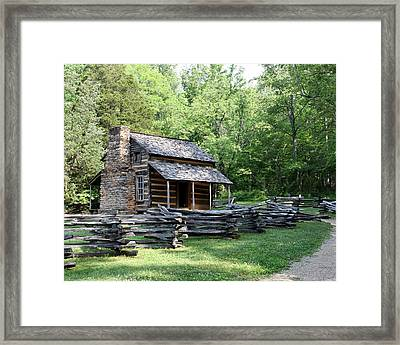 The John Oliver Place Framed Print