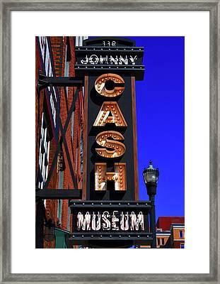 The Johnny Cash Museum - Nashville Framed Print