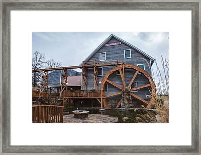 The Johnson Mill - Near Fayetteville Arkansas Framed Print