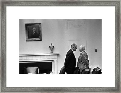 The Johnson Treatment, 1963 Framed Print by Science Source