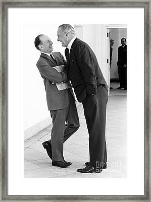 The Johnson Treatment, 1965 Framed Print by Science Source