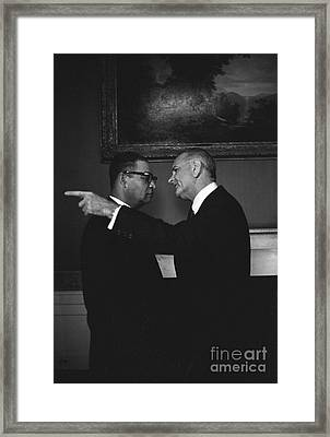 The Johnson Treatment, 1966 Framed Print by Science Source
