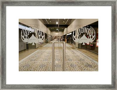 The Joint Framed Print