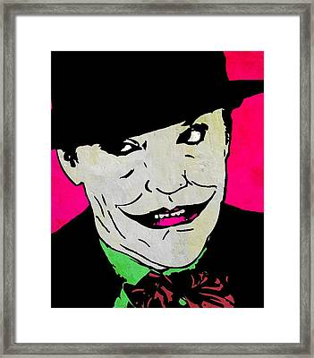 The Joker Framed Print by Otis Porritt