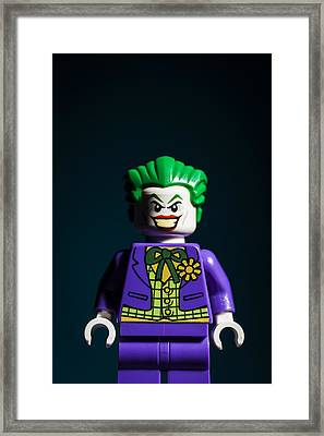 The Joker Framed Print by Samuel Whitton