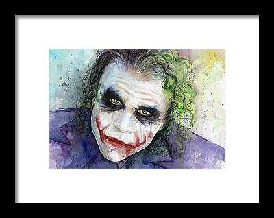 The Joker Framed Prints
