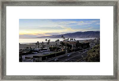The Jonathan Beach Club Framed Print