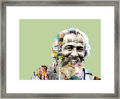 The Journalist Framed Print by Dominic Piperata