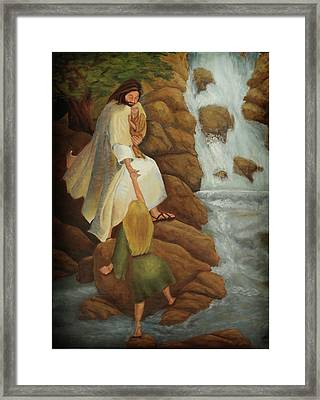The Journey Framed Print by Denise Gater