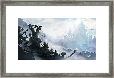 The Journey Framed Print by Guillem H Pongiluppi