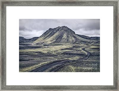 The Journey Is The Destination Framed Print by Evelina Kremsdorf