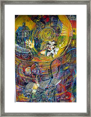 The Journey Framed Print by Peggy  Blood