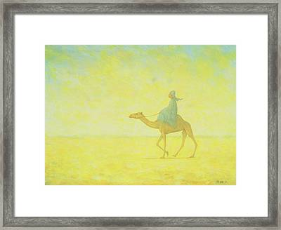The Journey Framed Print by Tilly Willis