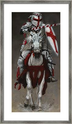 The Joust Framed Print
