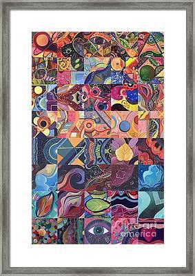 The Joy Of Design First 40 Variation 1 Framed Print