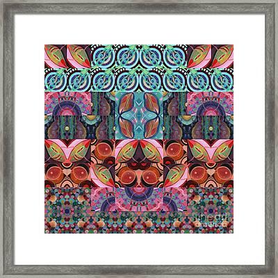 The Joy Of Design Mandala Series Puzzle 7 Arrangement 3 Framed Print